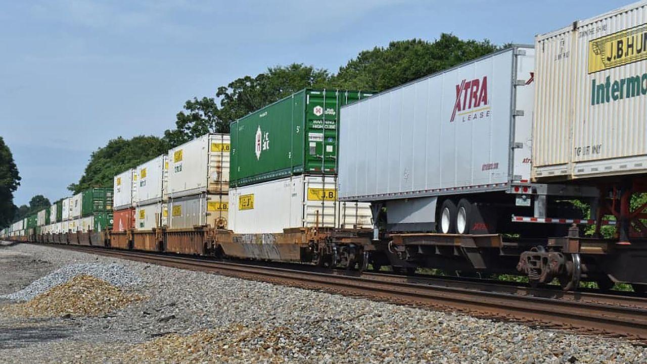Is Intermodal Rail Stalling? Railway Trains Container