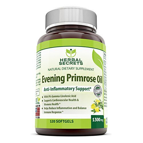 Herbal Secrets Evening Primrose Oil Supplement High Pot Natural Dietary Supplements Herbalism Herbal Cleanse