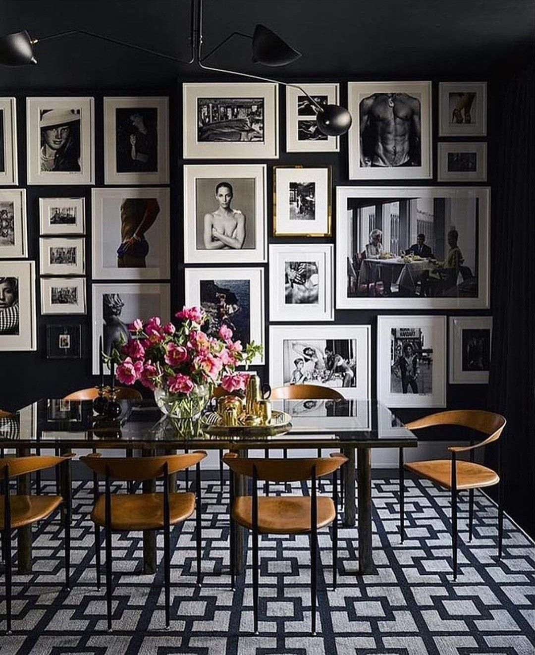 30 Black White Living Rooms That Work Their Monochrome Magic: Pin By Joe Fantetti On Rooms I Like In 2019