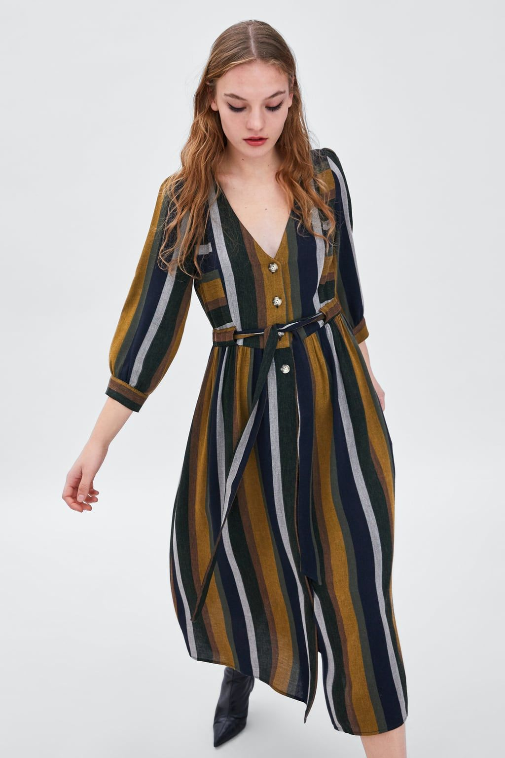 1b33b76a5763 Image 2 of STRIPED DRESS from Zara | What to wear in 2019 | Dresses ...