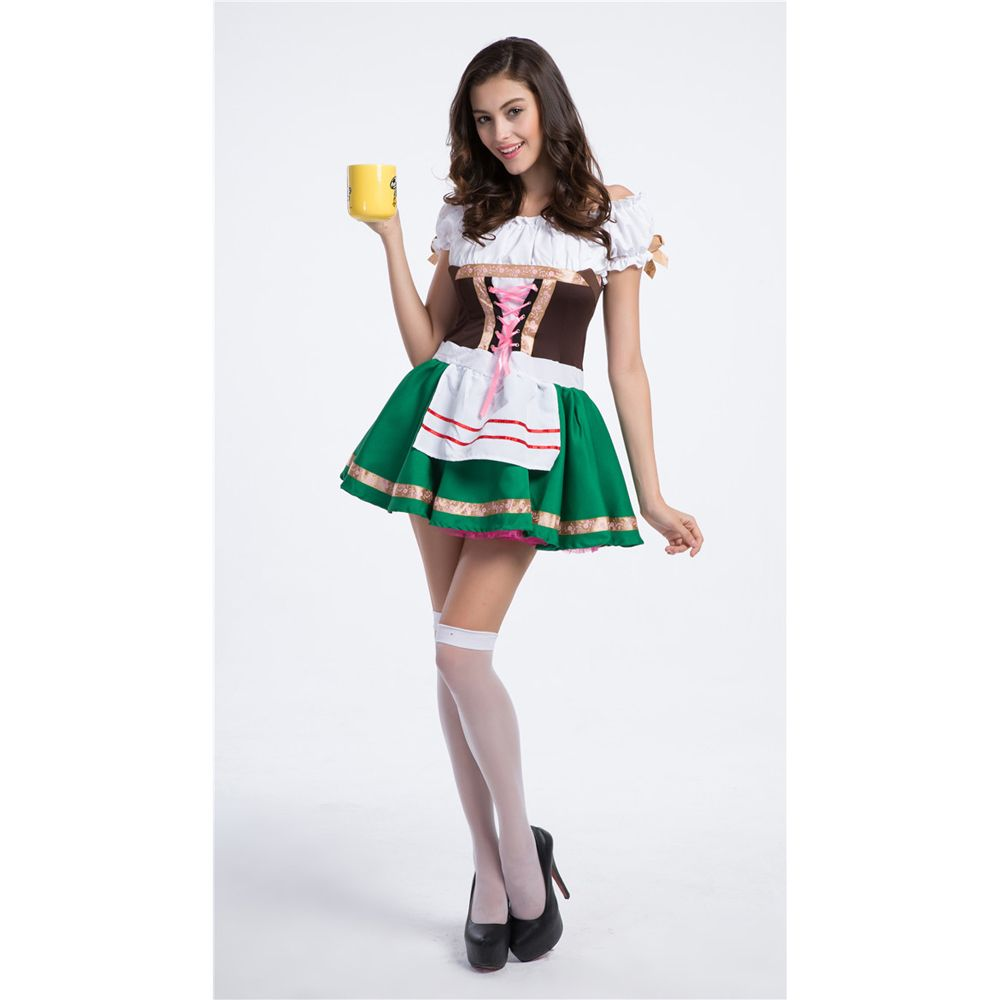 c5cef2be605e5 Women's Oktoberfest Sweetie Inga Costume for Halloween Beer Bar ...