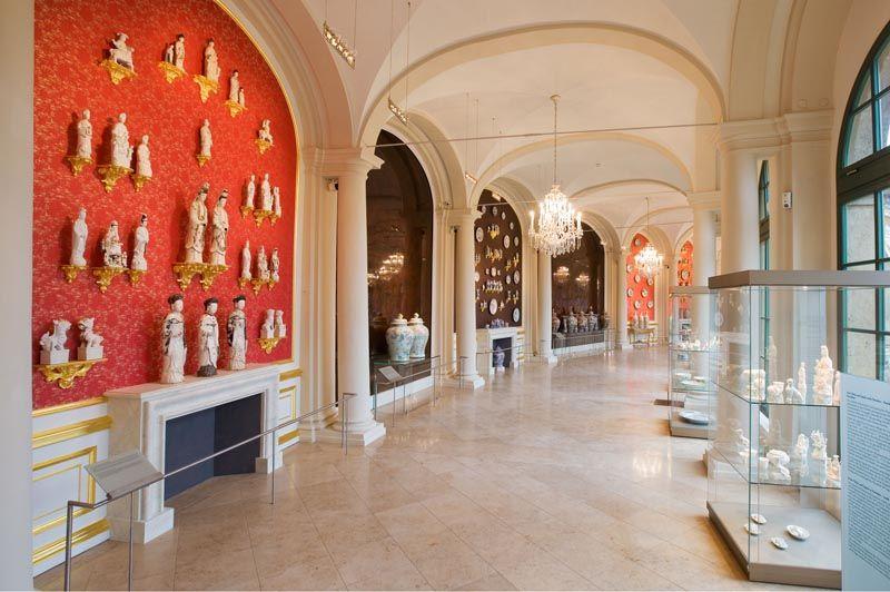 Staatliche Kunstsammlungen Dresden Porzellansammlung Museum Sammlung Dresdner Zwinger