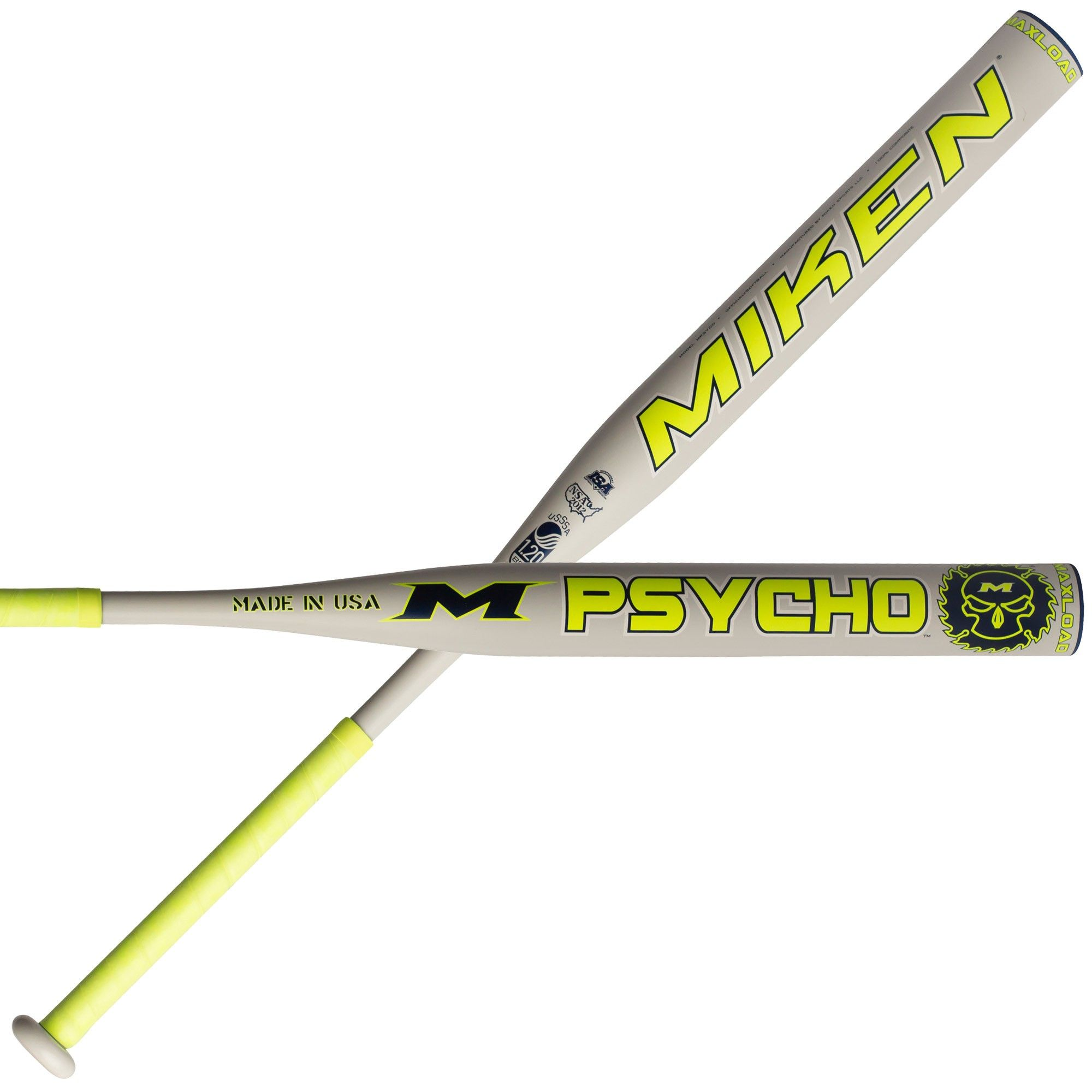 2019 Miken Psycho Maxload 34//25 MPSYCO Softball Bat USSSA