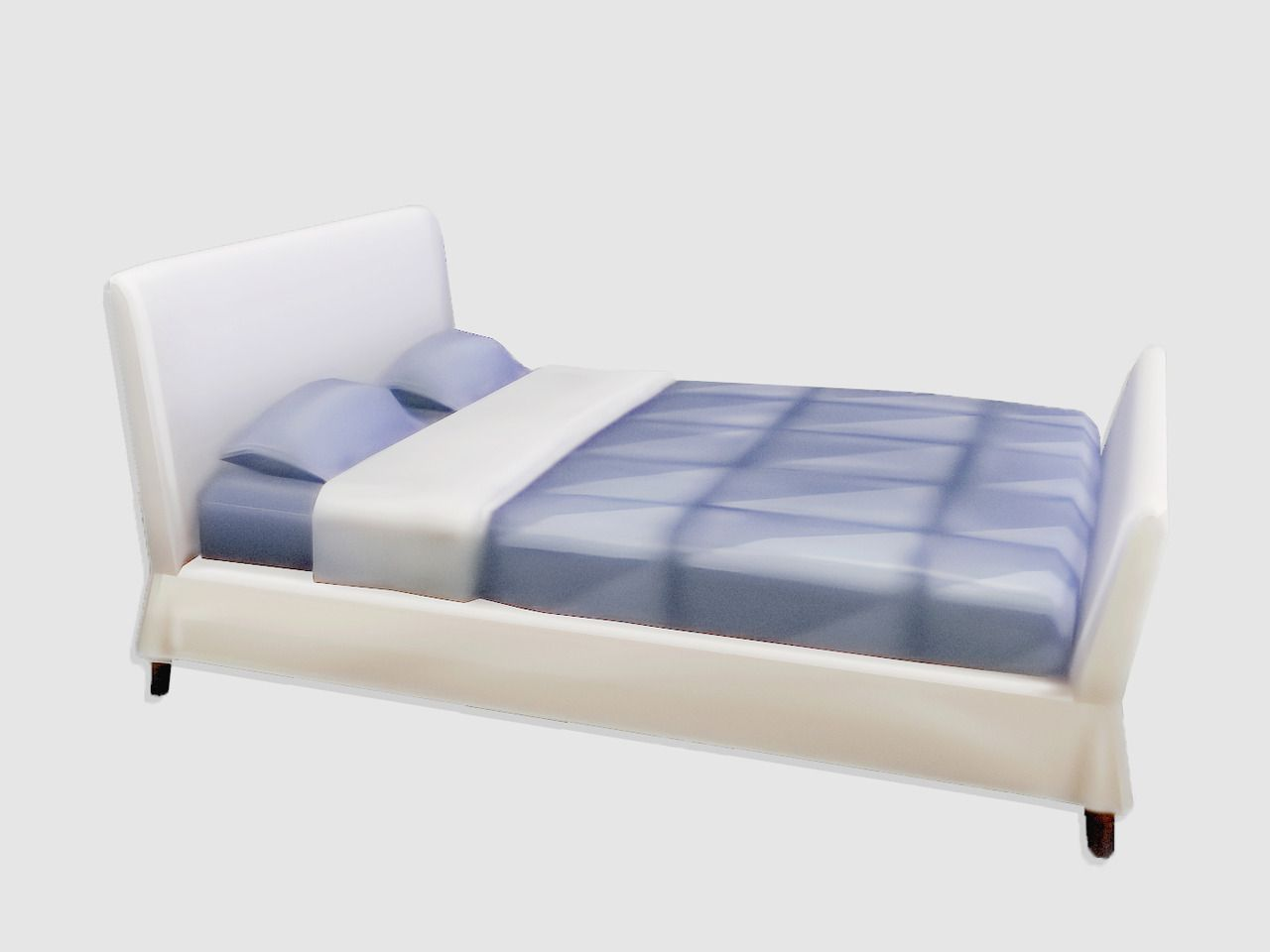 Gloomfish Gloom Bed A Bed Frame Duh Bgc 4 Swatches 2 Versions Single And Double Bed Its A Bed Frame Bed Frame Sims 4 Beds Headboards For Beds