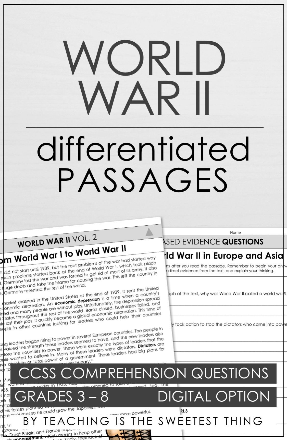 World War Ii Vol 2 Passages
