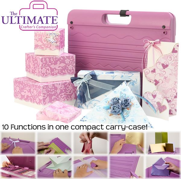 The Ultimate Crafter's Companion all-in-one paper crafting tool!