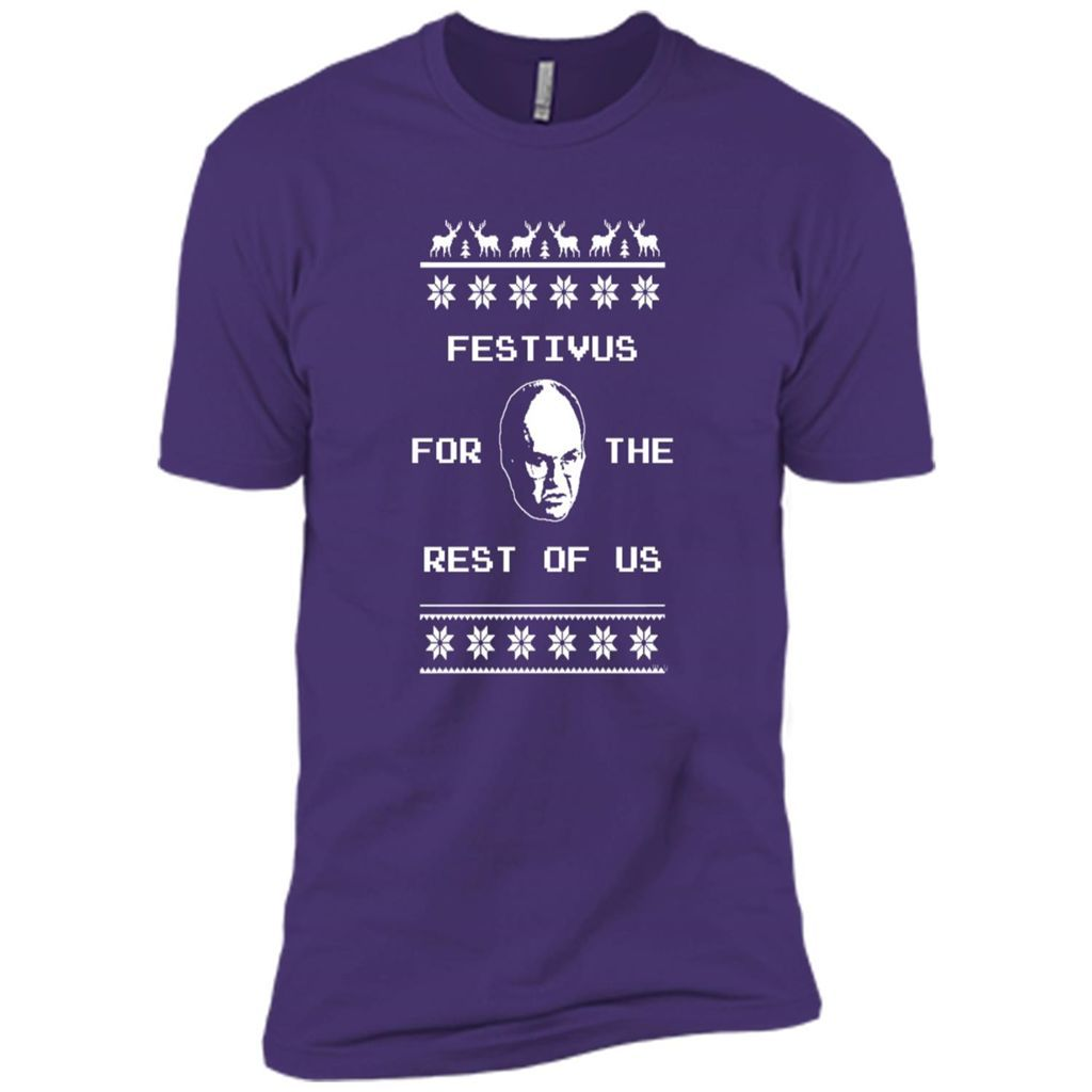 Festivus For The Rest of Us Ugly Holiday Sweater C - Men's T-Shirt ...