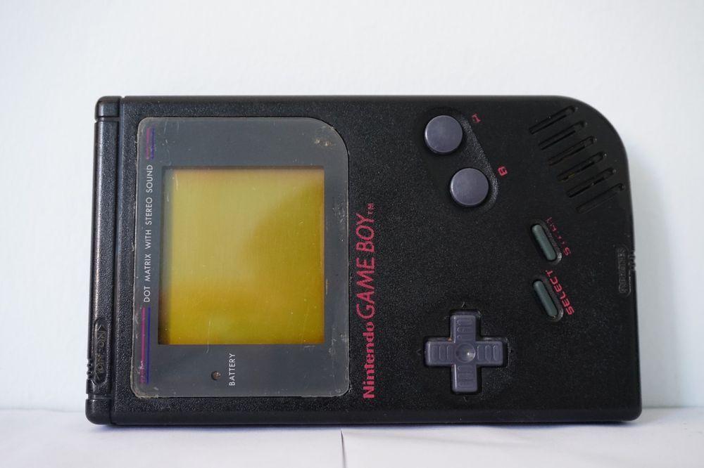 Details about Console Nintendo Game Boy Black gameboy mod
