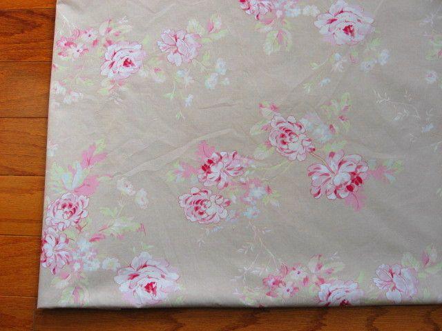4yds RACHEL ASHWELL~Shabby Chic~Vintage Roses FABRIC ~Last One! picclick.com