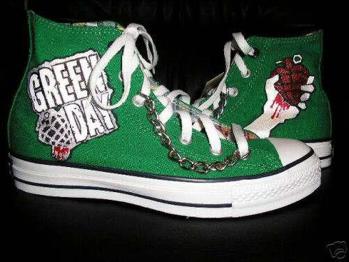 I found 'green day shoes' on Wish, check it out! | Sneakers