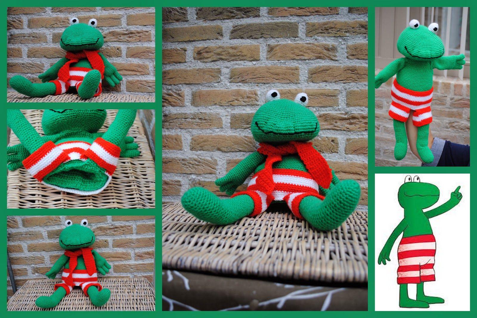 Gehaakte Kikker Handpop Kikkerklas Amigurumi Crochet En Crochet
