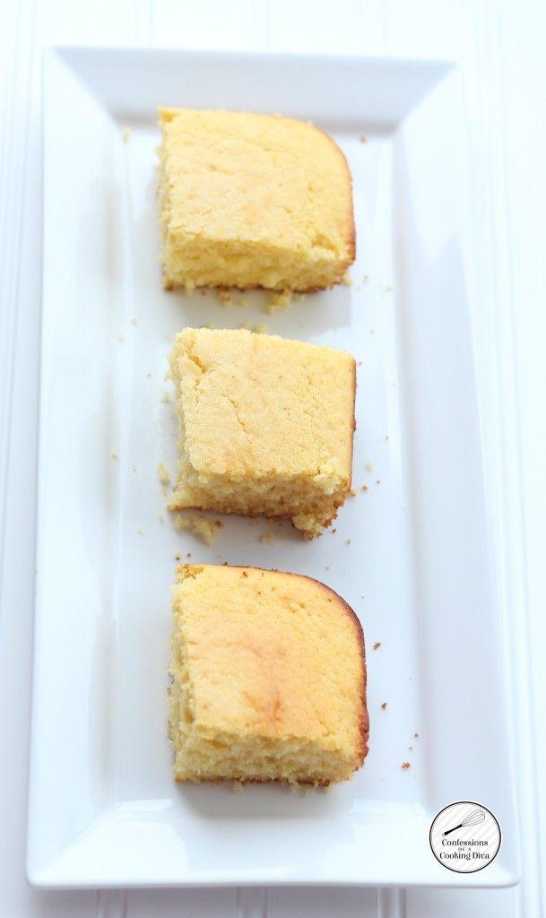 Easy Cornbread | www.confessionsofacookingdiva.com