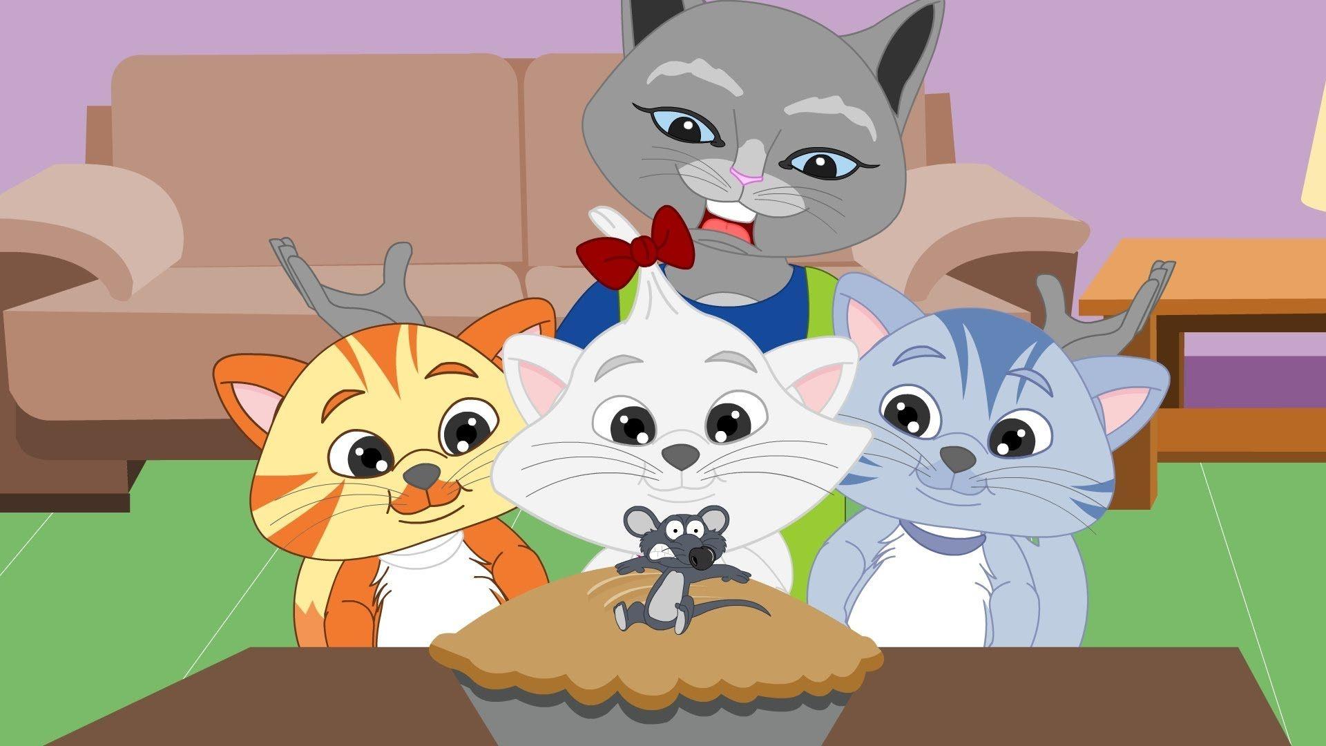 Three Little Kittens Lost Their Mittens Nursery Rhyme Baby Nursery Rhymes Songs Nursery Rhymes Songs Nursery Rhymes