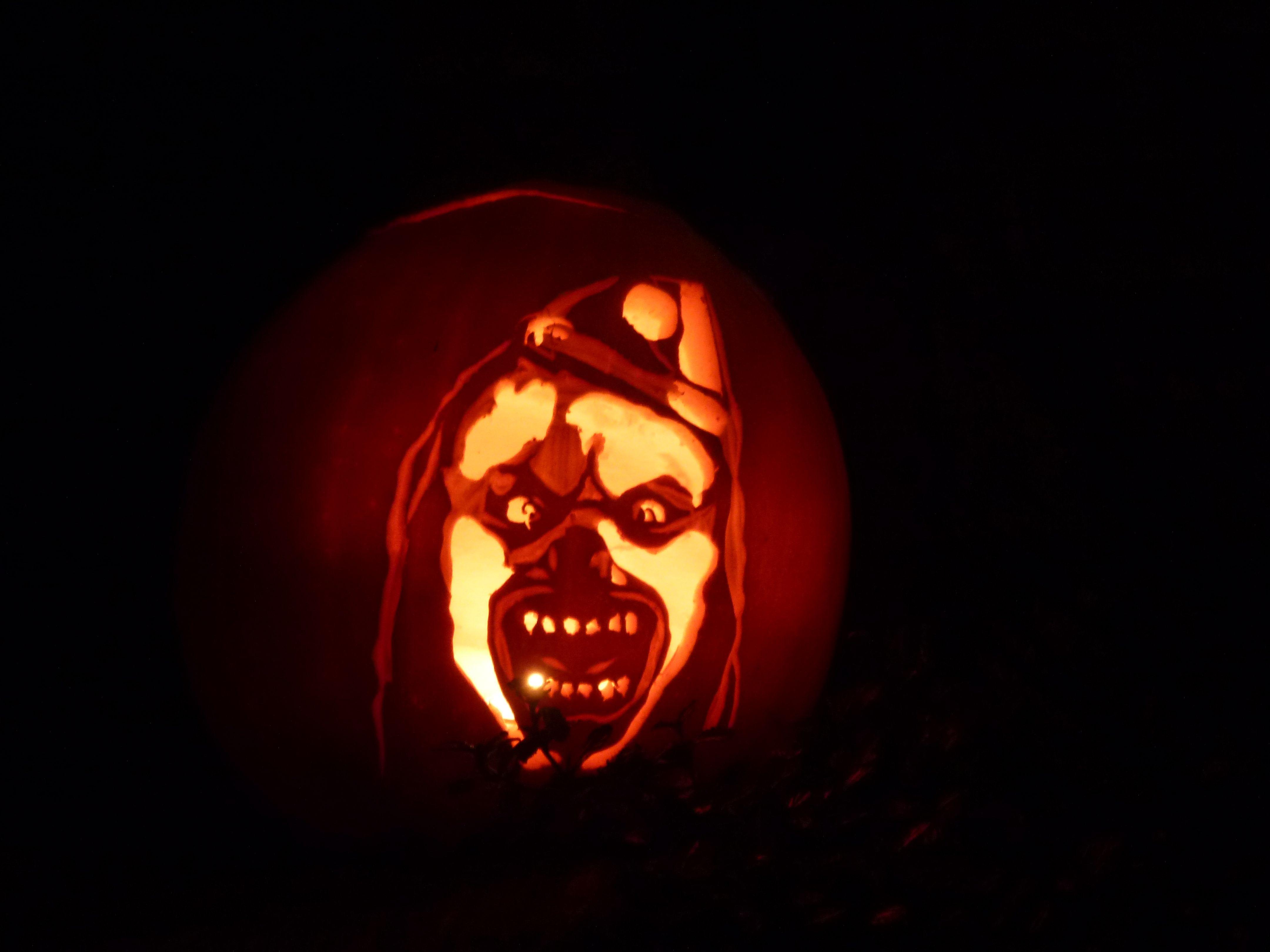 Clown Pumpkin Carving Patterns Custom Decorating Ideas