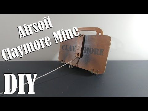 Homemade airsoft claymore DIY - YouTube | Survival | Airsoft