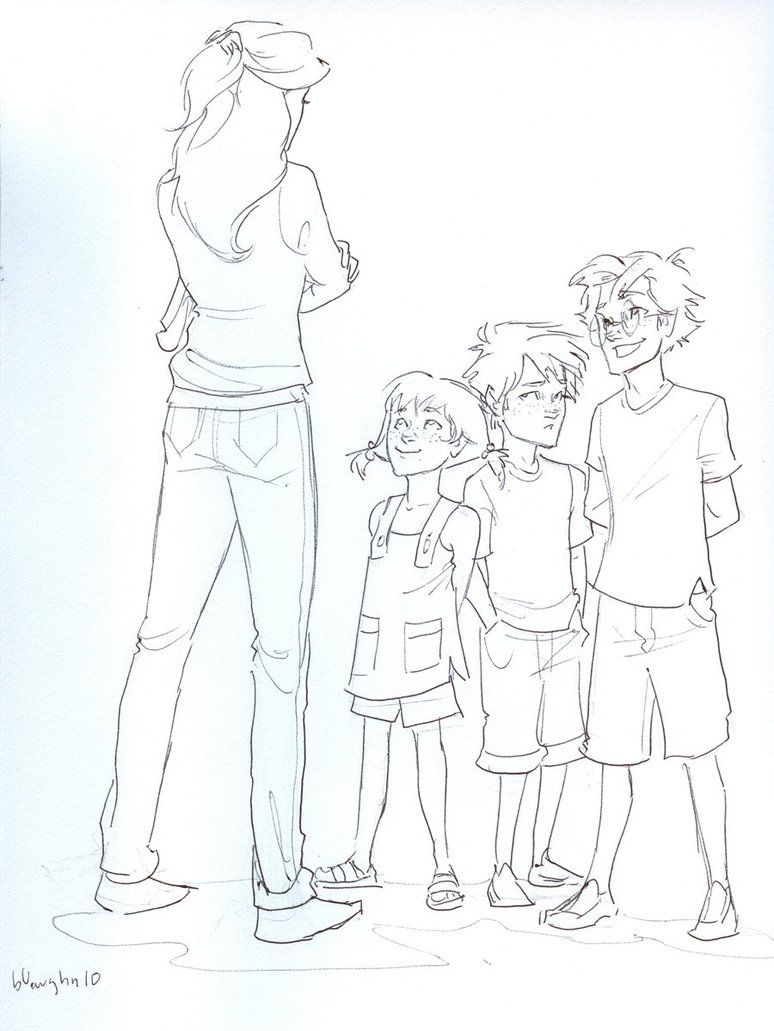 Potter Kids by *burdge-bug