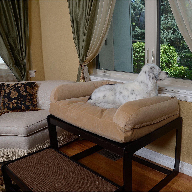 The Savvy Pet Lacey's Lookout Medium Black Pet Window Seat