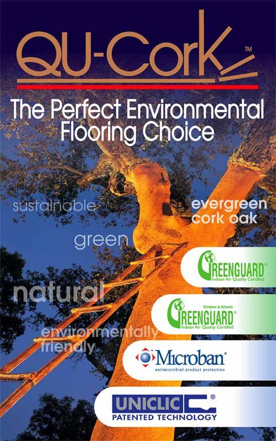 Qu Cork Cork Flooring Products The Perfect Environmental