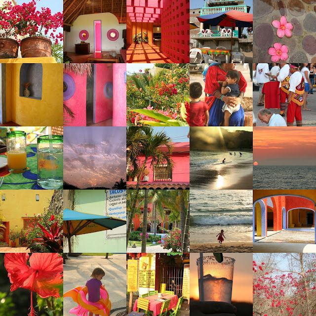 Colours and Scenes from Mexico.