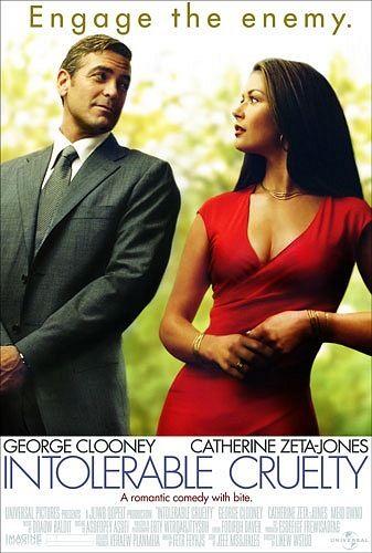 Intolerable Cruelty Catherine Zeta Jones George Clooney Best Romantic Comedies