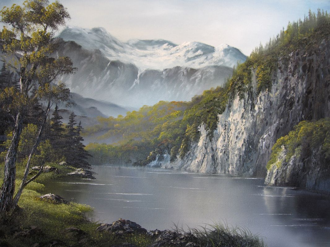 Kevin Hill Gallery - Paint with Kevin