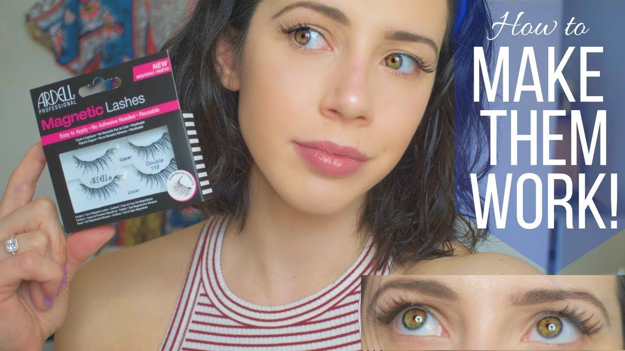 Ardell lashes secret to making them work