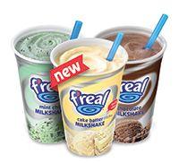 F Real Amazing Shakes Milkshake Pretty Food Super Yummy