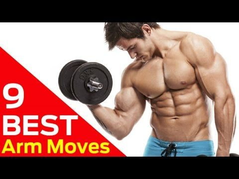 9 best dumbbell moves for bigger arms at home arm