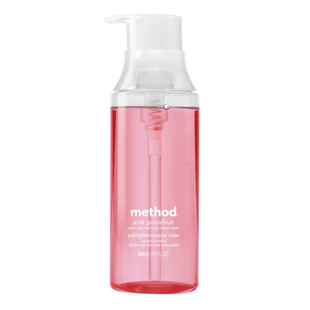 Method Gel Hand Wash Pink Grapefruit 12oz Bath And Body Beauty