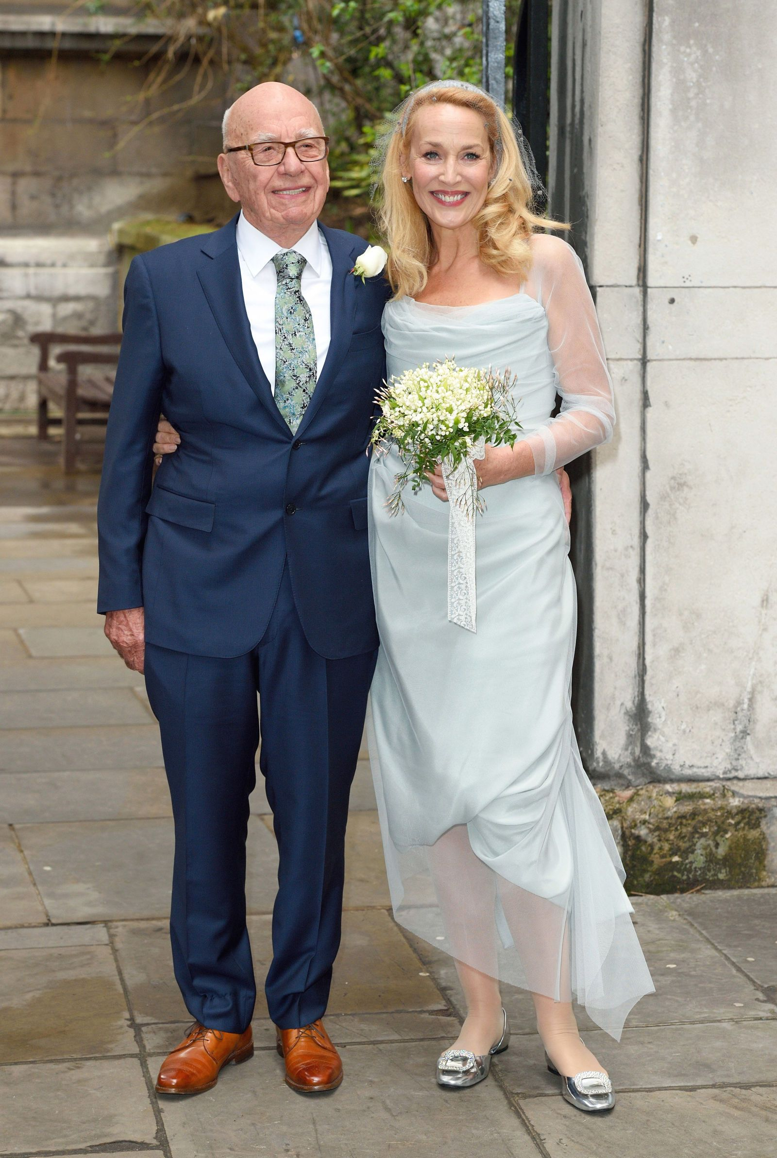 Jerry Hall Shares A Photo From Her Wedding Celebration