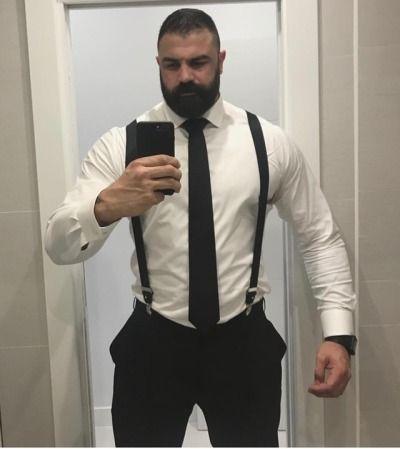 Pin Von Jason Grantham Auf Beards Scruff Anzug