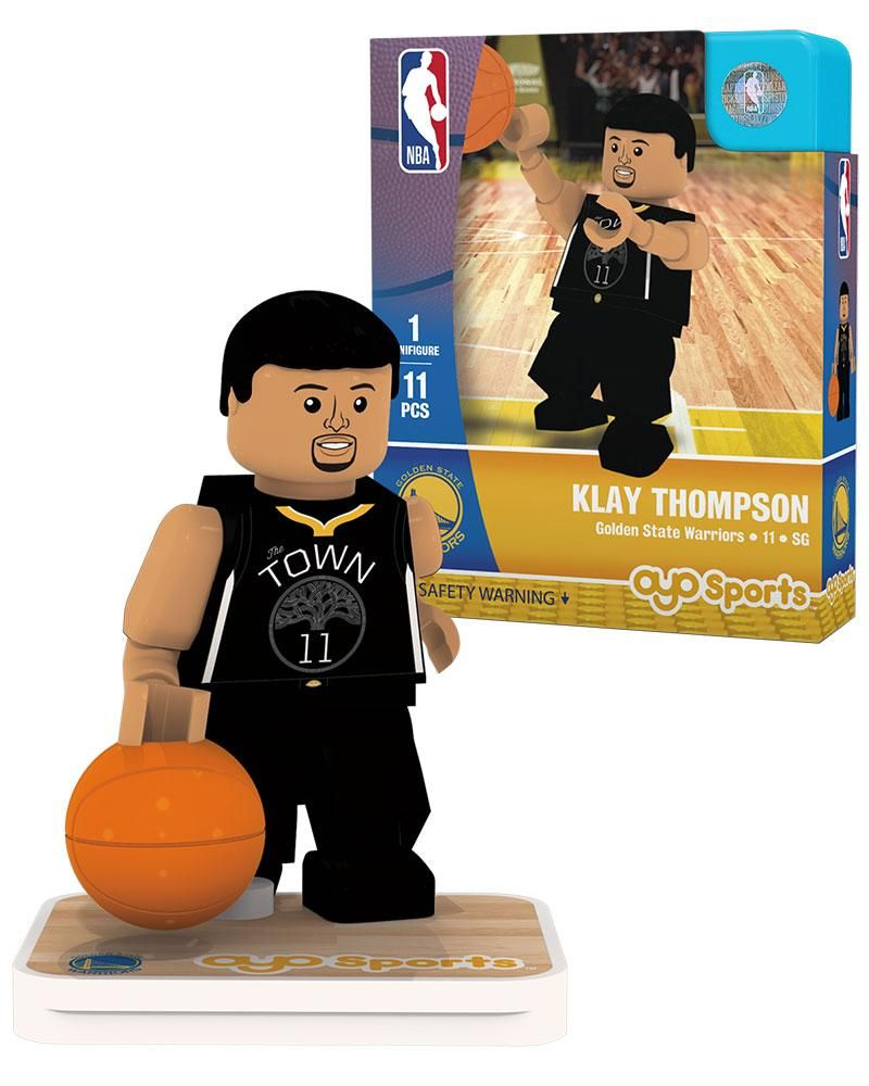 72ac8b91daa Golden State Warriors KLAY THOMPSON Statement Uniform Limited Edition OYO  Minifigure