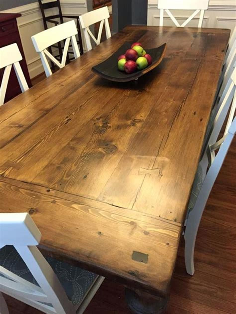 35 Beautiful Epoxy Table Top Ideas You Ll Love Farmhouse Dining