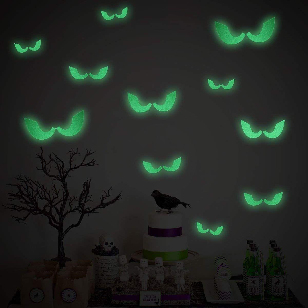 Küche dekorieren ideen von joanna gewinnt uacunomor halloween dekoration boese augen fluoreszierende