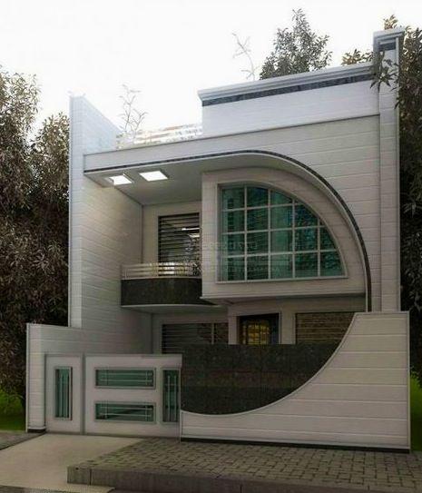 Arab Arch Cube House Duplex House Design Unique House Design Small House Elevation Design