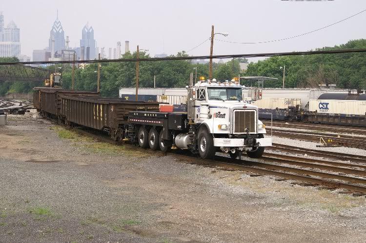brandt truck railroad Brandt truck is a little