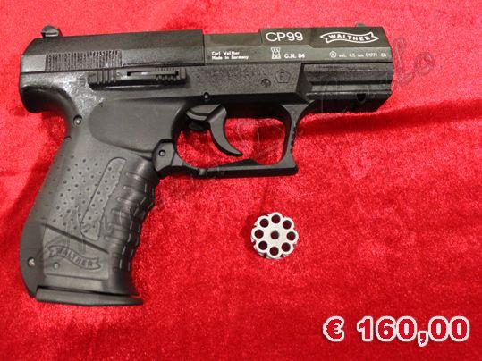 NUOVO A-0085 http://www.armiusate.it/armi-ad-aria-compressa-softair/pistole-co2-gas/nuovo-a-0085-umarex-cp99-calibro-45_i179210