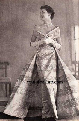Couture Allure Vintage Fashion: Vintage Evening Gowns - Ted Shore ...