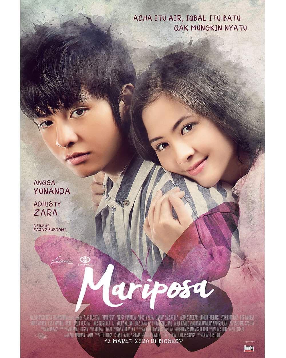 MARIPOSA di 2020 Film romantis, Film remaja, Komedi romantis