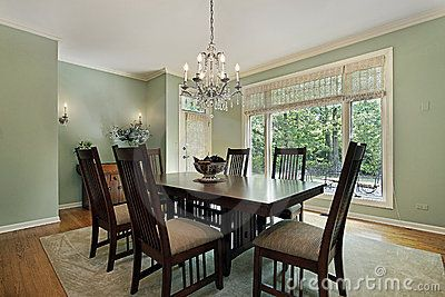 image result for light green dining room | radcliffe dinning room