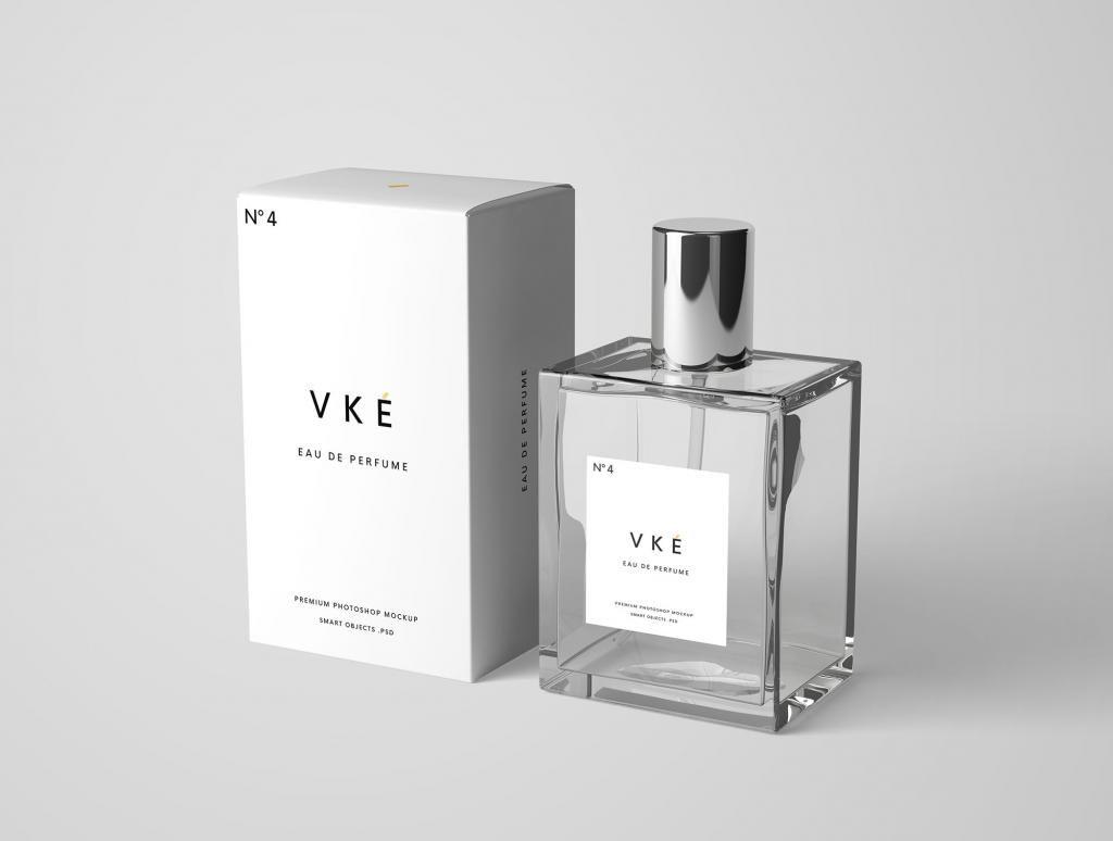 "Download Perfume Package Free Mockup ͖¥ìˆ˜ ͙""장품"