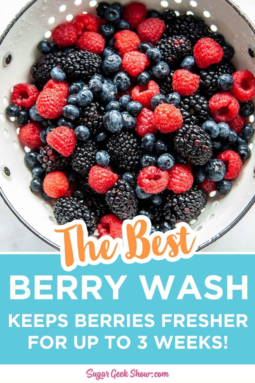 How to make fresh berries last longer sugar geek show