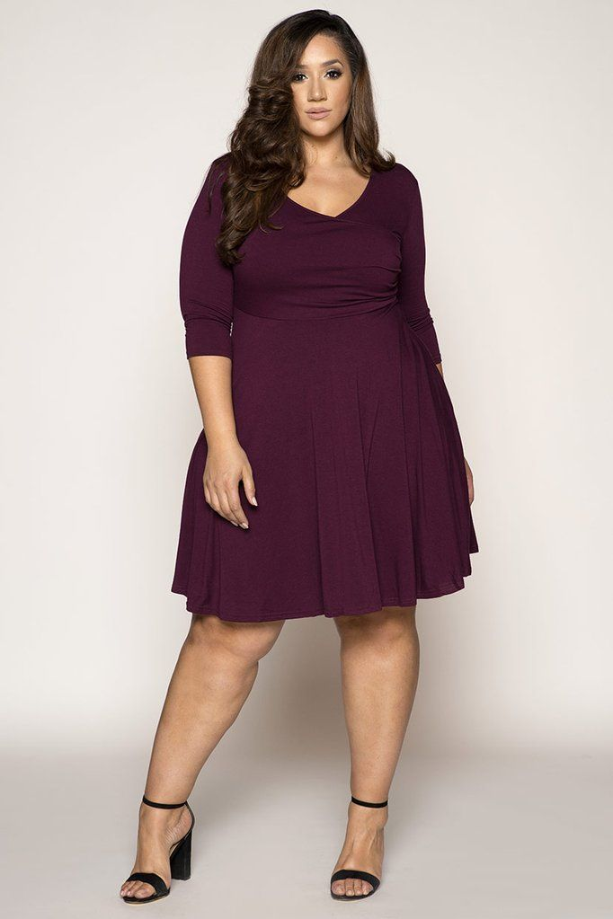 Plus Size Dresses For Spring Plus Size Fit And Flair Mulberry