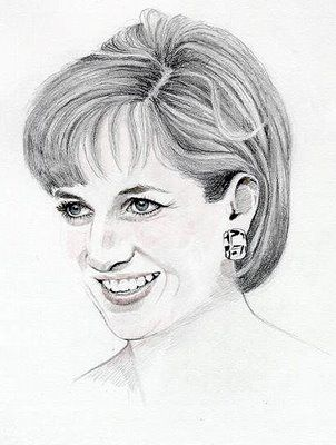 Coloring Page Of Princess Diana Great For Older Children