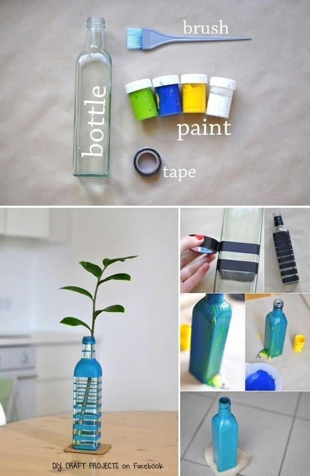 Ways To Decorate Glass Jars Recycle Glass Bottles  Second Life Projects  Ideas For Crafts