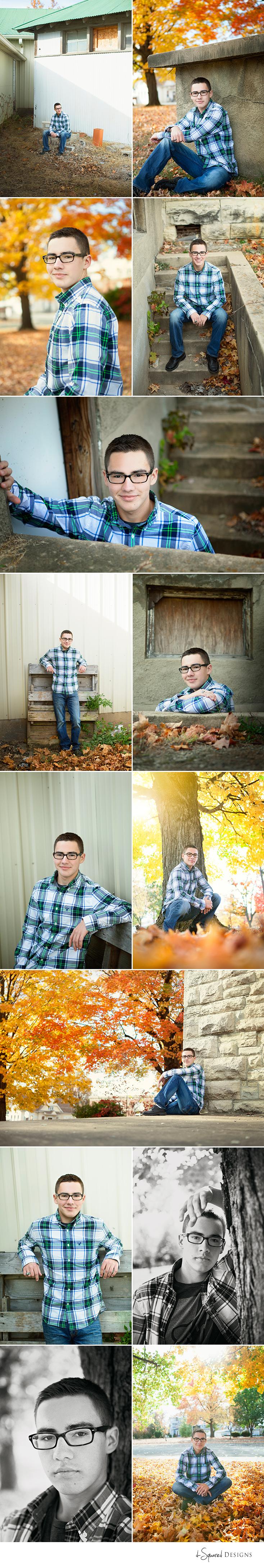 d-Squared Designs St. Louis, MO Senior Photography. Senior fall guy. Senior photography. Fall senior session.