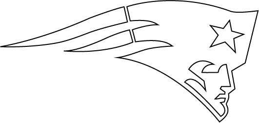 DeviantArt: More Like New England Patriots Logo Outline Vector by ...