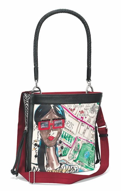 Por Brighton Designer Tom Clancy Maps Out The Hotspots In Fashion With His New Collection Passport This Crossbody Bag Features Colorful