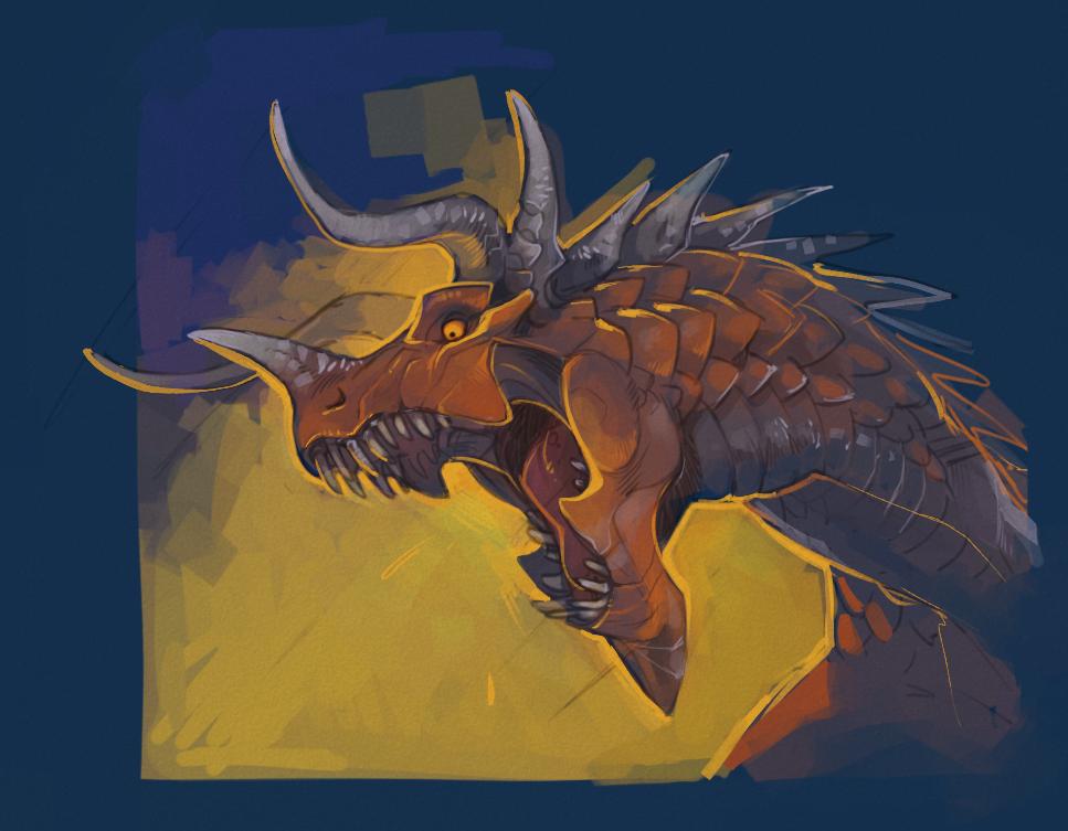 Dragon by Drkav on deviantART