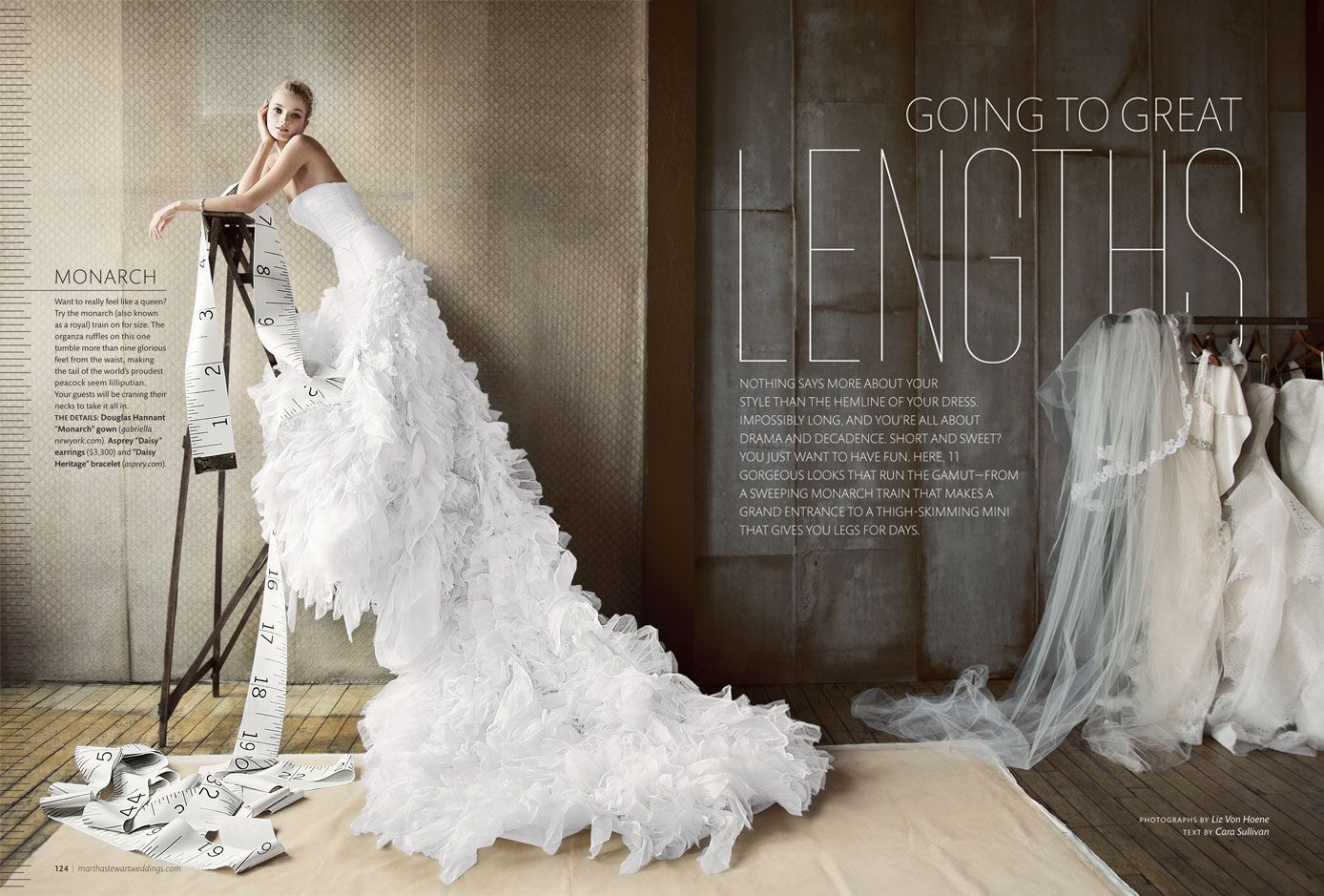Our Douglas Hannant Monarch Train Gown Featured In Real